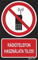 Rádiótelefon használata tilos! (1 kép)