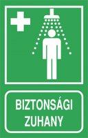 Biztonsági zuhany (1 kép)
