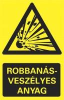 Robbanásveszélyes anyag (1 kép)