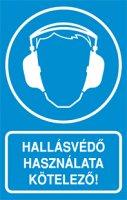 Hallásvédő használata kötelező! (1 kép)