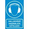 Hallásvédő használata kötelező!